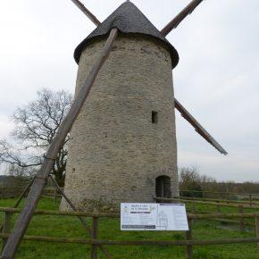 Visite du moulin de la Garenne à PANNECE - Vendredi 3 mars