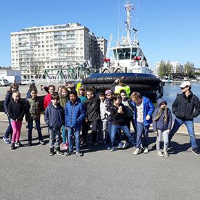 Sortie au Port de Saint-Nazaire