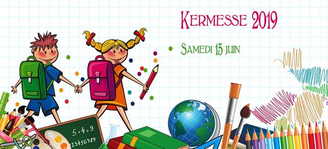 Kermesse 2019 : organisation