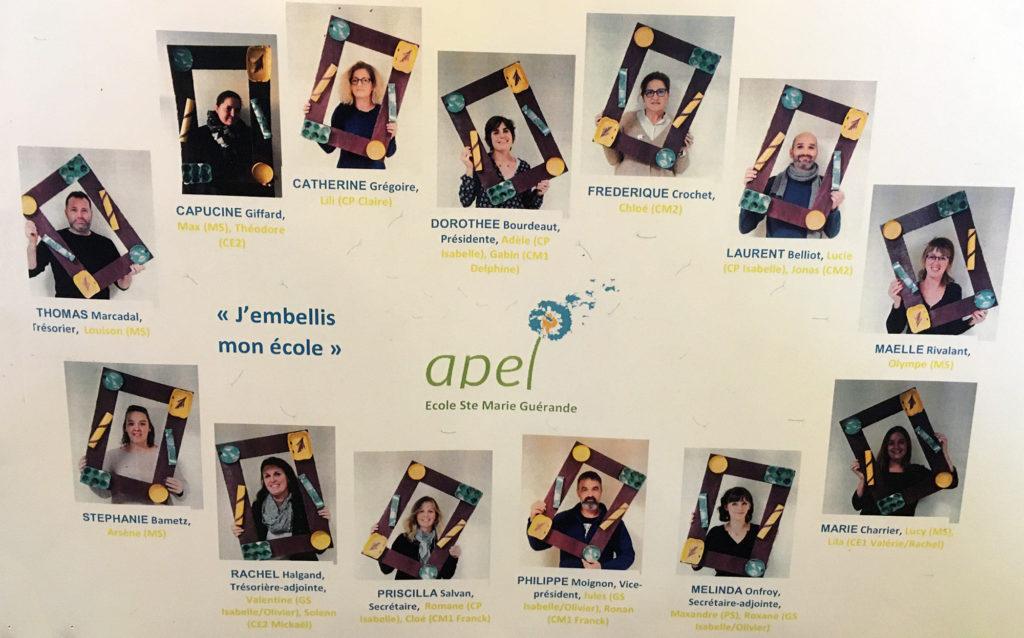 Equipe APEL 2019-2020