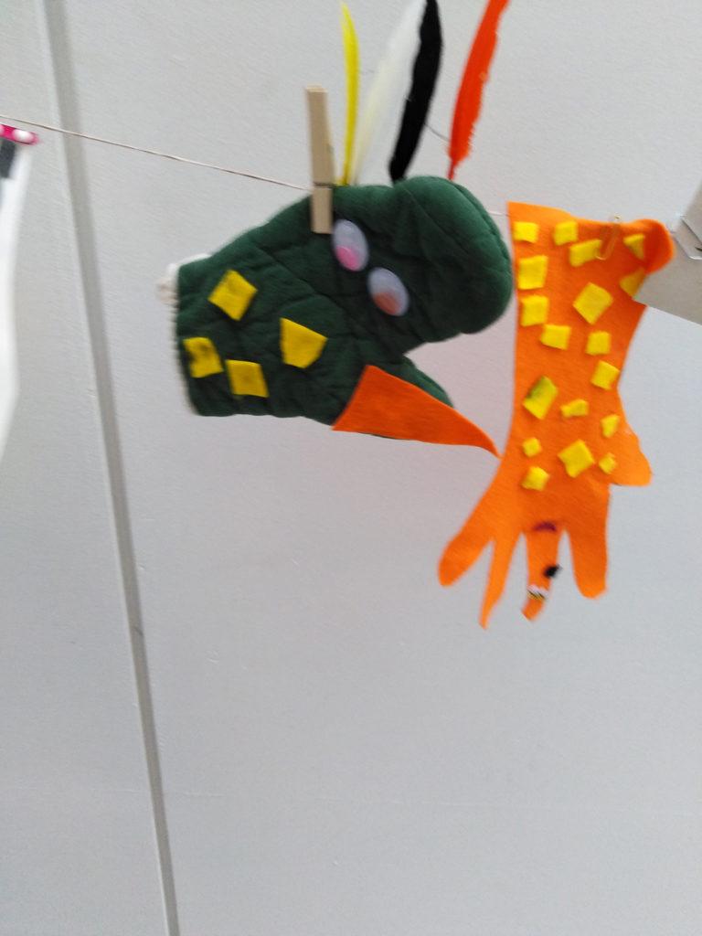 ecole sainte marie Guérande spectacle gants