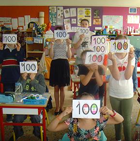 Le 100è jour de classe de l'année 2019/2020!