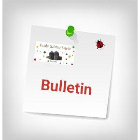 Bulletin du mois de septembre