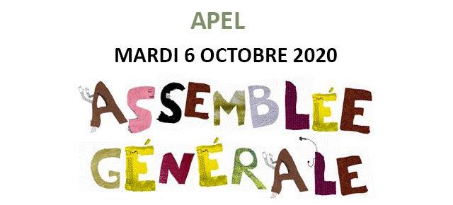 Convocation Assemblée Générale APEL