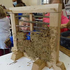 CE1-CE2 : La découverte de l'architecture à pans de bois